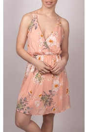 Final Touch Floral Mini Dress - Front full body