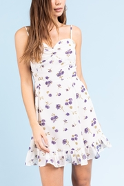 Le Lis Floral Mini Dress - Product Mini Image