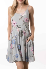 i. Joah Floral Mini Dress - Product Mini Image