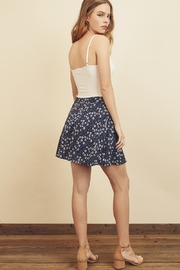 dress forum Floral Mini Skirt - Front full body
