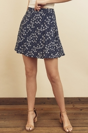 dress forum Floral Mini Skirt - Front cropped