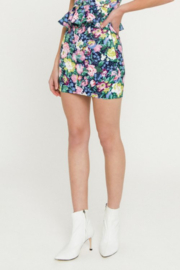 Endless Rose Floral Mini Skirt - Side cropped