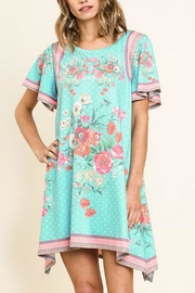 Umgee USA Floral Mint - Front full body