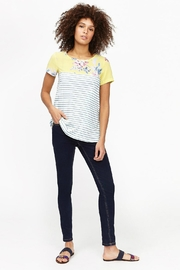 Joules Floral Mix Tee - Product Mini Image