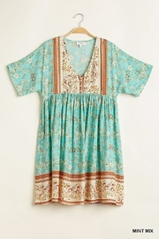 umgee  Mint Floral  Babydoll - Product Mini Image