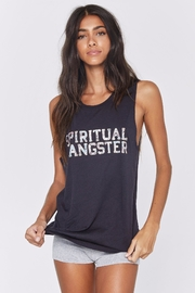 SPIRITUAL GANGSTER Floral Muscle Tank - Product Mini Image