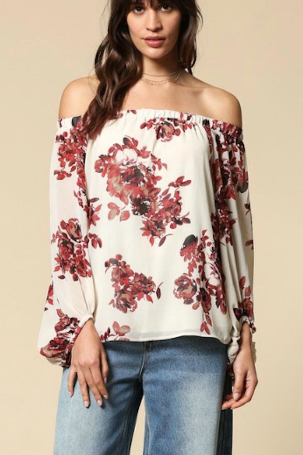 18cf0628a6c78c By Together Floral Off Shoulder from Pennsylvania by The Hanger ...