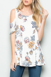 Riah Fashion Floral Off Shoulder - Product Mini Image