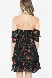 Sugarlips Floral Off Shoulder - Front full body