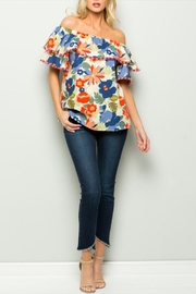 See & Be Seen Floral Off Shoulder - Product Mini Image