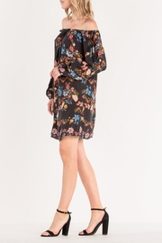 Miss Me Floral Off-Shoulder Dress - Product Mini Image