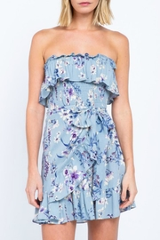 ALB Anchorage Floral Off-Shoulder Dress - Product Mini Image