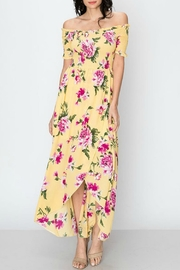 Favlux Floral Off-Shoulder Maxi-Dress - Product Mini Image