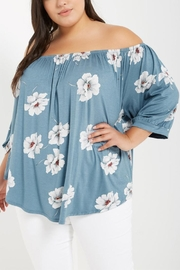 MaiTai Floral Off-Shoulder Top - Product Mini Image