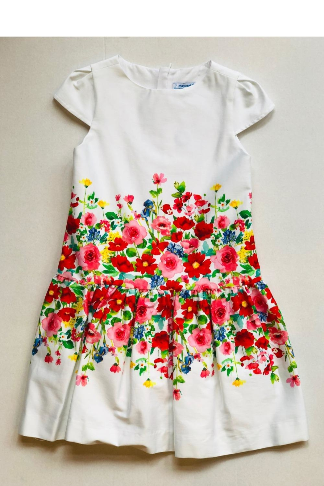 Mayoral Floral Ombre Dress - Main Image