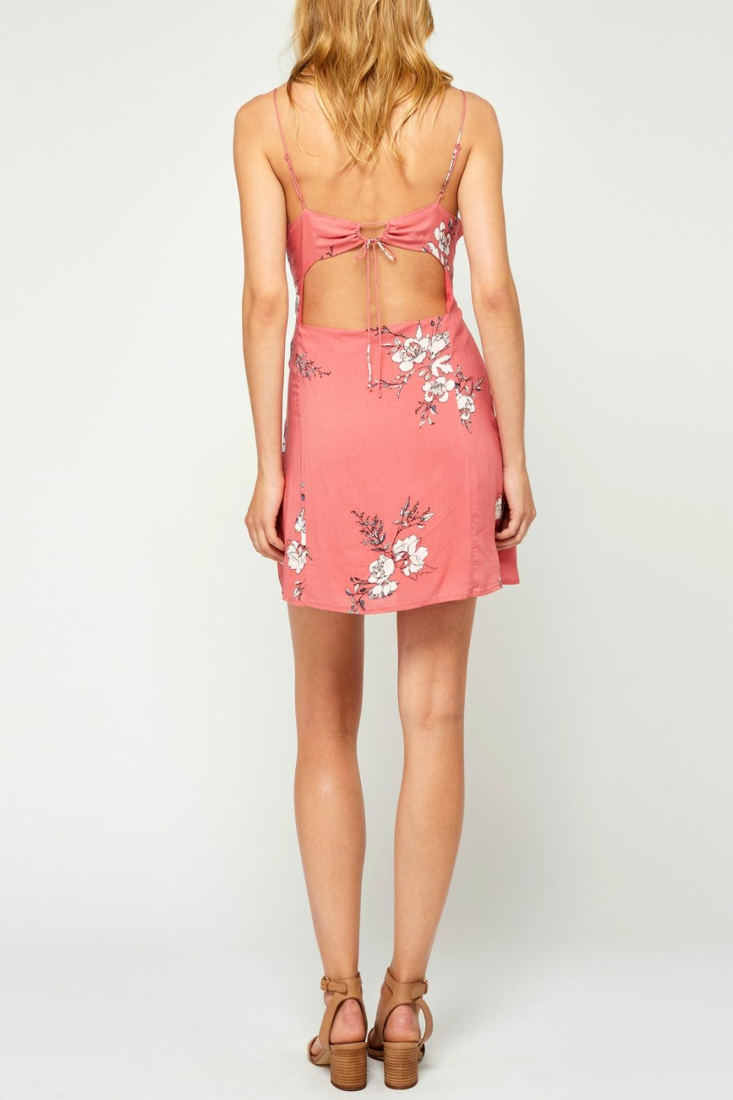 Gentle Fawn Floral Openback Dress - Side Cropped Image