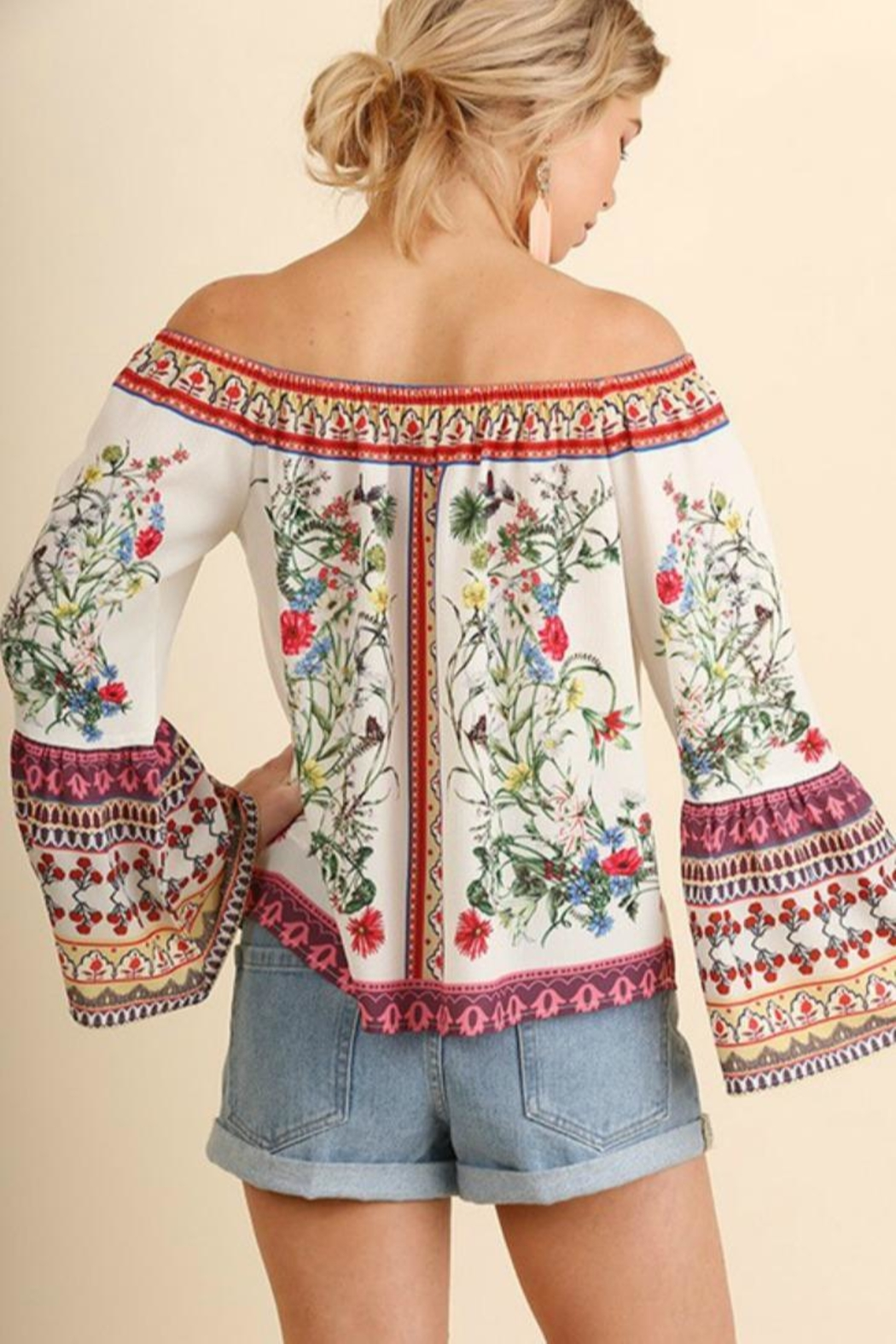 Umgee USA Floral Ots Stunner - Side Cropped Image