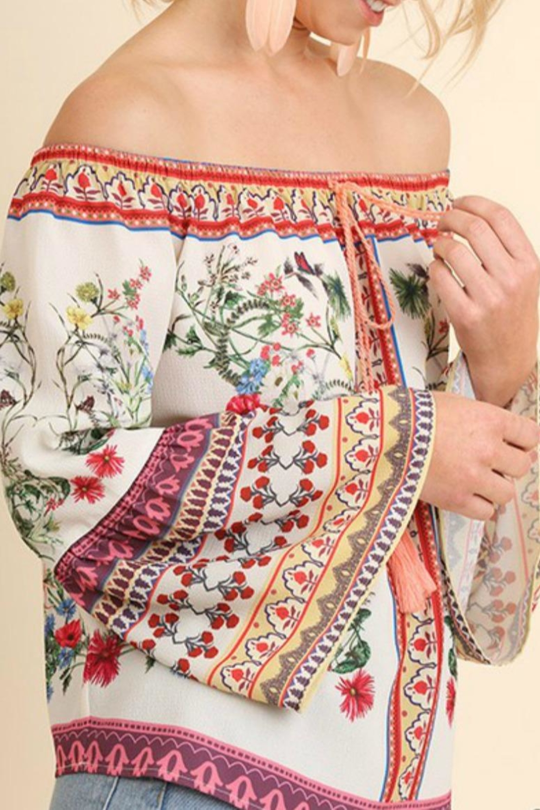 Umgee USA Floral Ots Stunner - Front Full Image