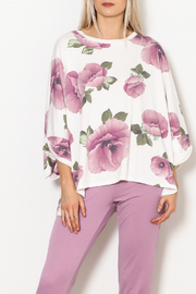 Adrienne Floral Oversized Sweatshirt - Product Mini Image