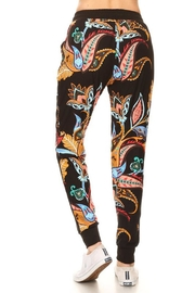 New Mix Floral Paisley Jogger - Front full body