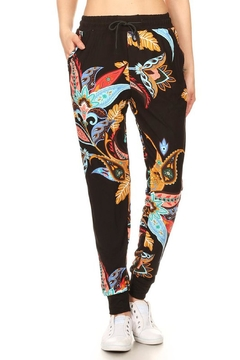 New Mix Floral Paisley Jogger - Product List Image