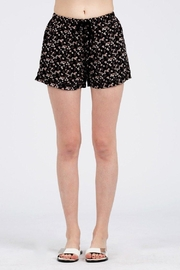 POL Floral Pajama Shorts - Product Mini Image