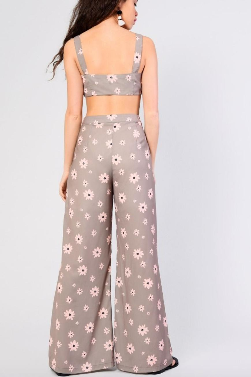 Glamorous Floral Pant - Front Full Image