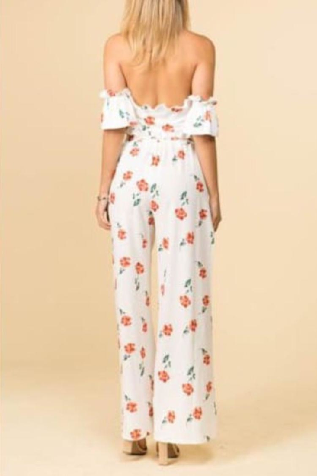 E2 Clothing Floral Pant Set - Front Full Image