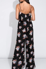 blue blush Floral Pants Set - Side cropped