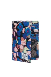 Herschel Supply Co. Floral Passport Wallet - Front full body