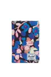 Herschel Supply Co. Floral Passport Wallet - Front cropped