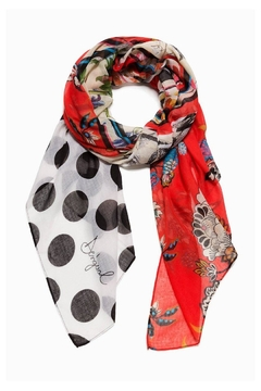 DESIGUAL Floral Patch Scarf - Product List Image