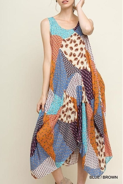 Umgee USA Floral Patchwork Maxi-Dress - Product List Image