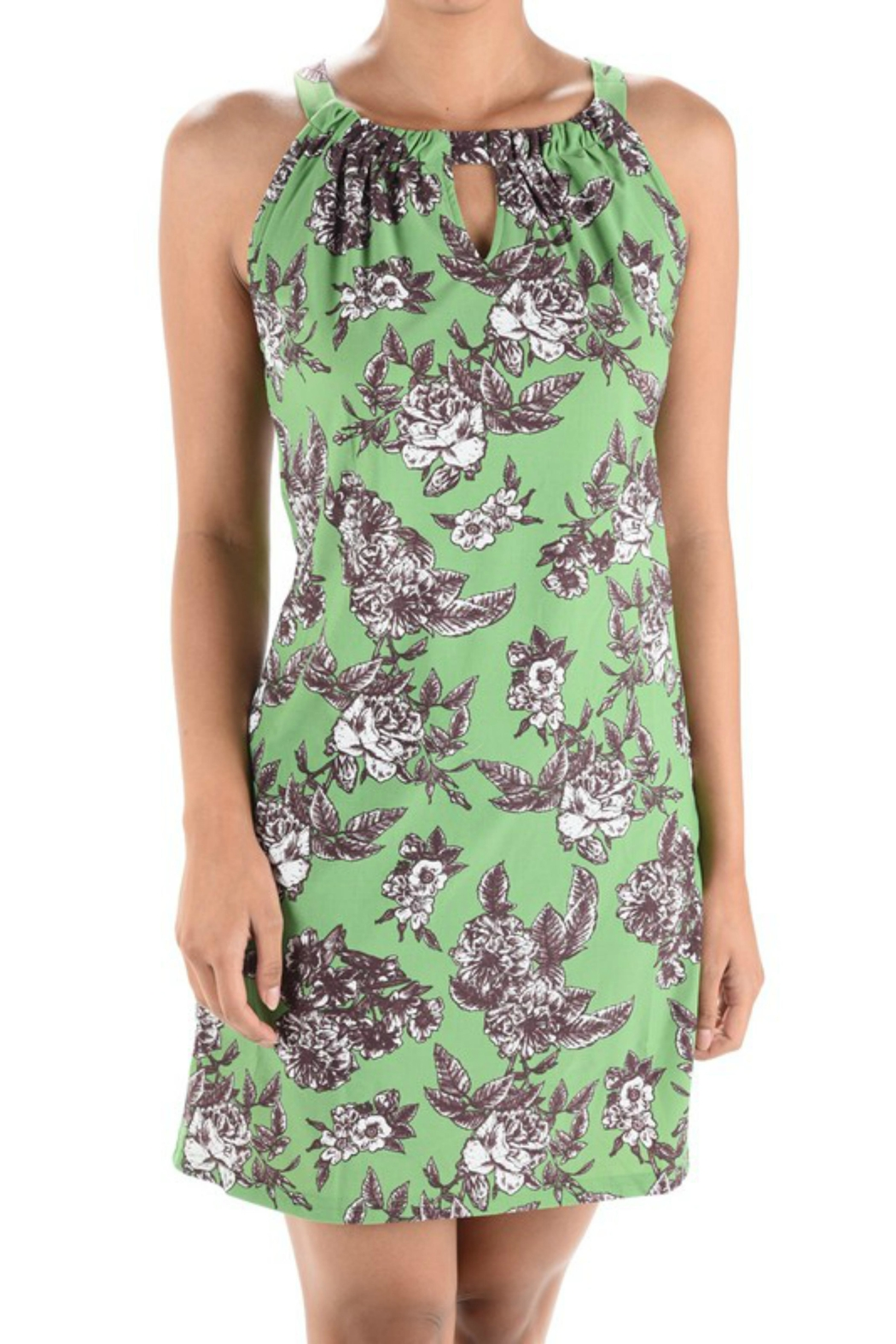 Aryeh Floral Pattern Dress - Main Image