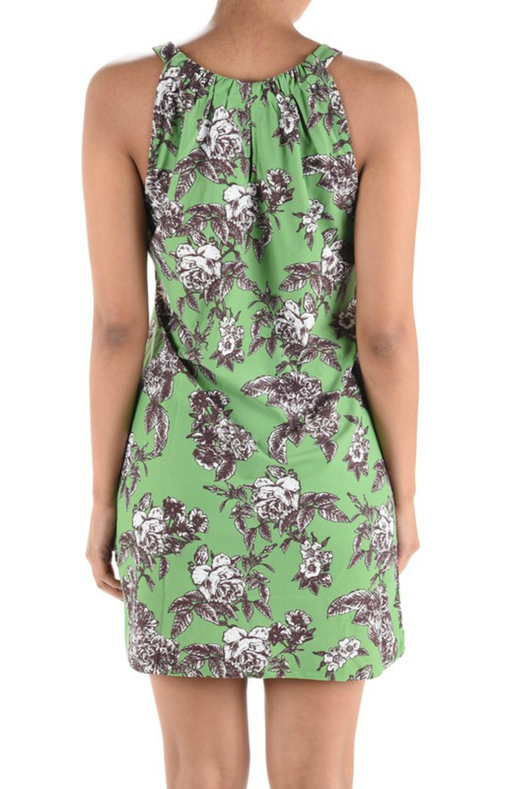 Aryeh Floral Pattern Dress - Front Full Image