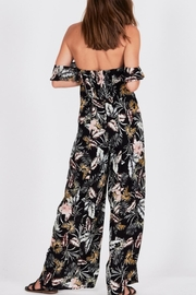 AMUSE SOCIETY Floral Paz Romper - Front full body