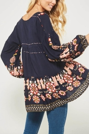 Promesa USA Floral Peasant Blouse - Other