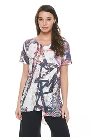 Inoah Floral Plaid Tunic - Product Mini Image