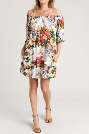 Jodifl Floral Pocket Dress - Product Mini Image