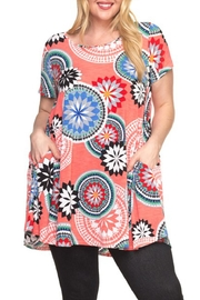 Spin USA Floral Pocket Dress - Product Mini Image
