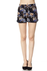 New Mix Floral Pocket Short - Product Mini Image