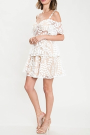 L'atiste Floral Popup Dress - Front full body