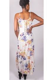 Final Touch Floral Prairie Dress - Back cropped