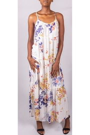 Final Touch Floral Prairie Dress - Front full body