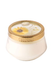 Rosy Rings Floral Press Large Honey Tobacco Candle - Product Mini Image