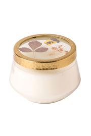 Rosy Rings Floral Press Large Pumpkin Cardamom Candle - Product Mini Image