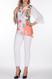 Varations Floral Print Blouse - Product Mini Image