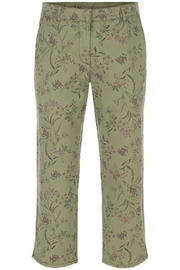 Tribal Floral Print Capri - Product Mini Image