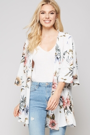 Andree by Unit Floral Print Cardigan - Product Mini Image
