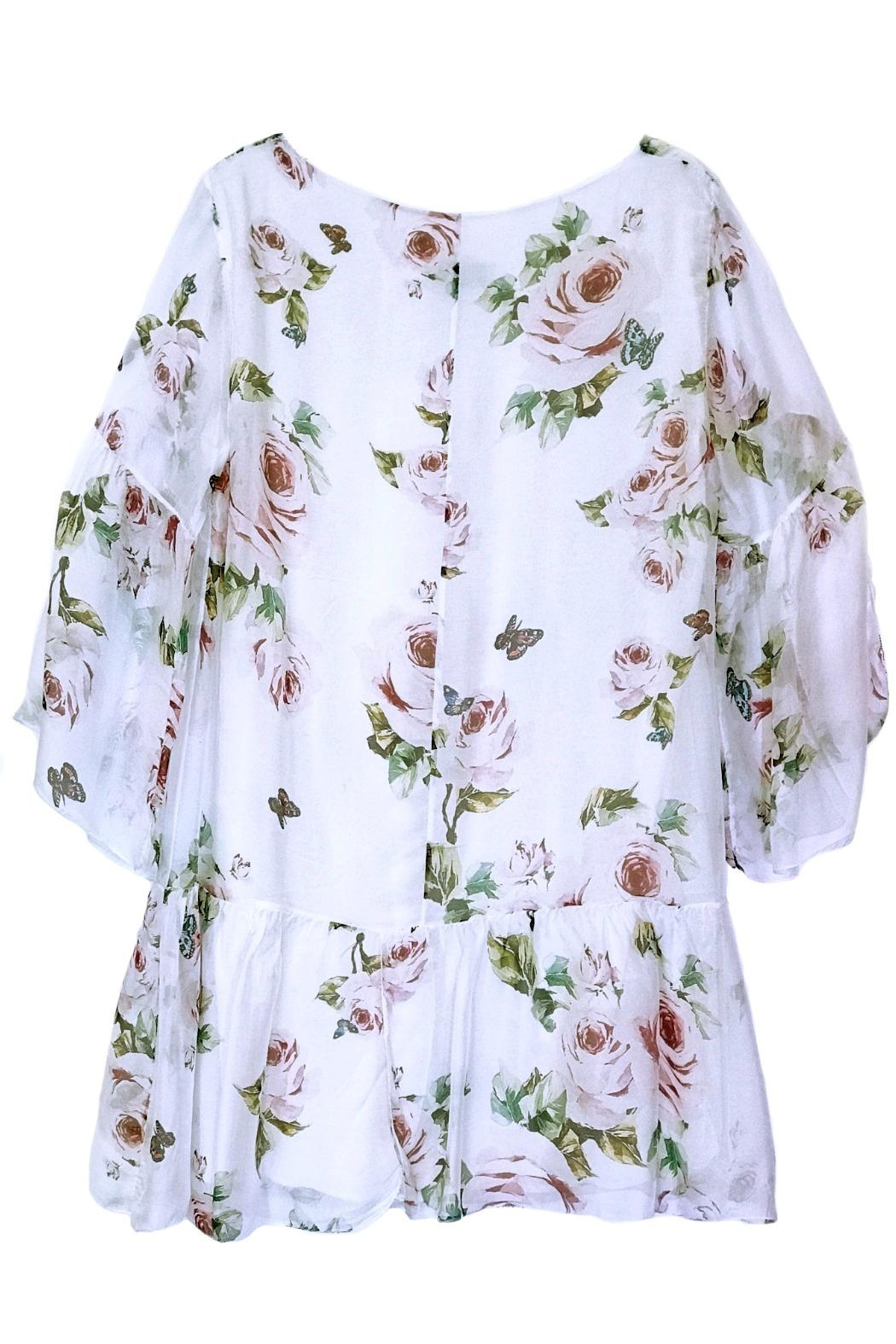 ANTONELLO SERIO Floral Print Dress - Front Full Image